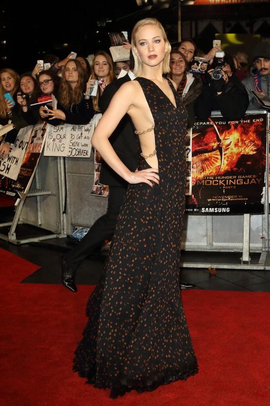 Jennifer Lawrence pocałowała Natalie Dormer w usta