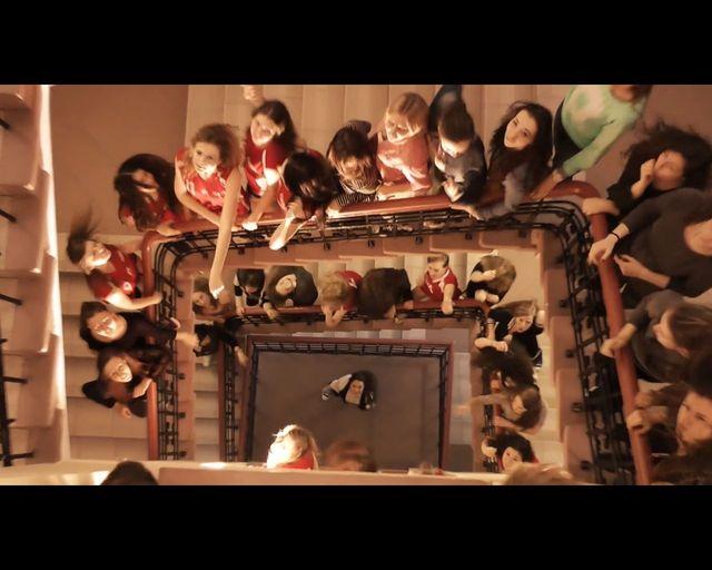 Licealiści z Ełku reklamują swoję szkołę w oscarowym stylu