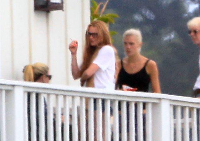 Lindsay Lohan nalaz�a mi�o�� na odwyku?