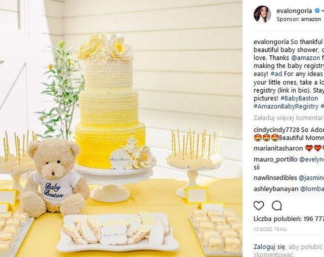 Eva Longoria z OGROMNYM brzuchem urządziła baby shower (ZDJĘCIA)