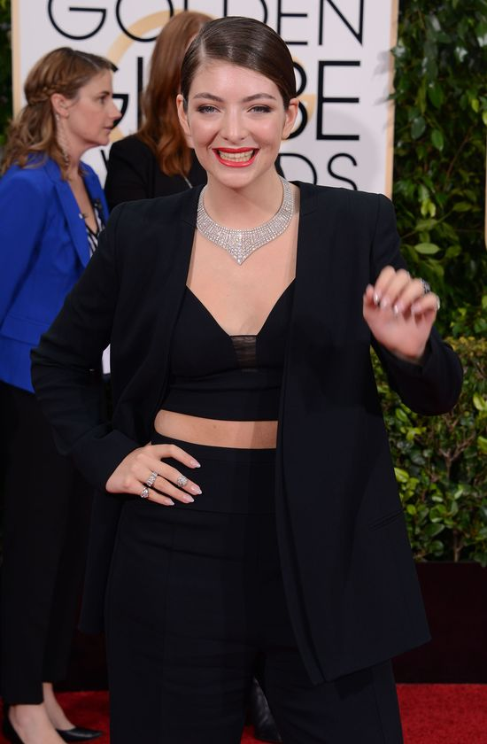 17-letnia Lorde najlepiej ubran� gwiazd� na Z�otych Globach?