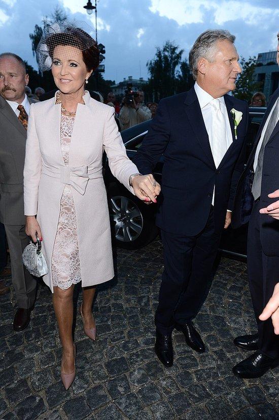 Ślub Aleksandry Kwaśniewskiej i Kuby Badacha - zdjęcia