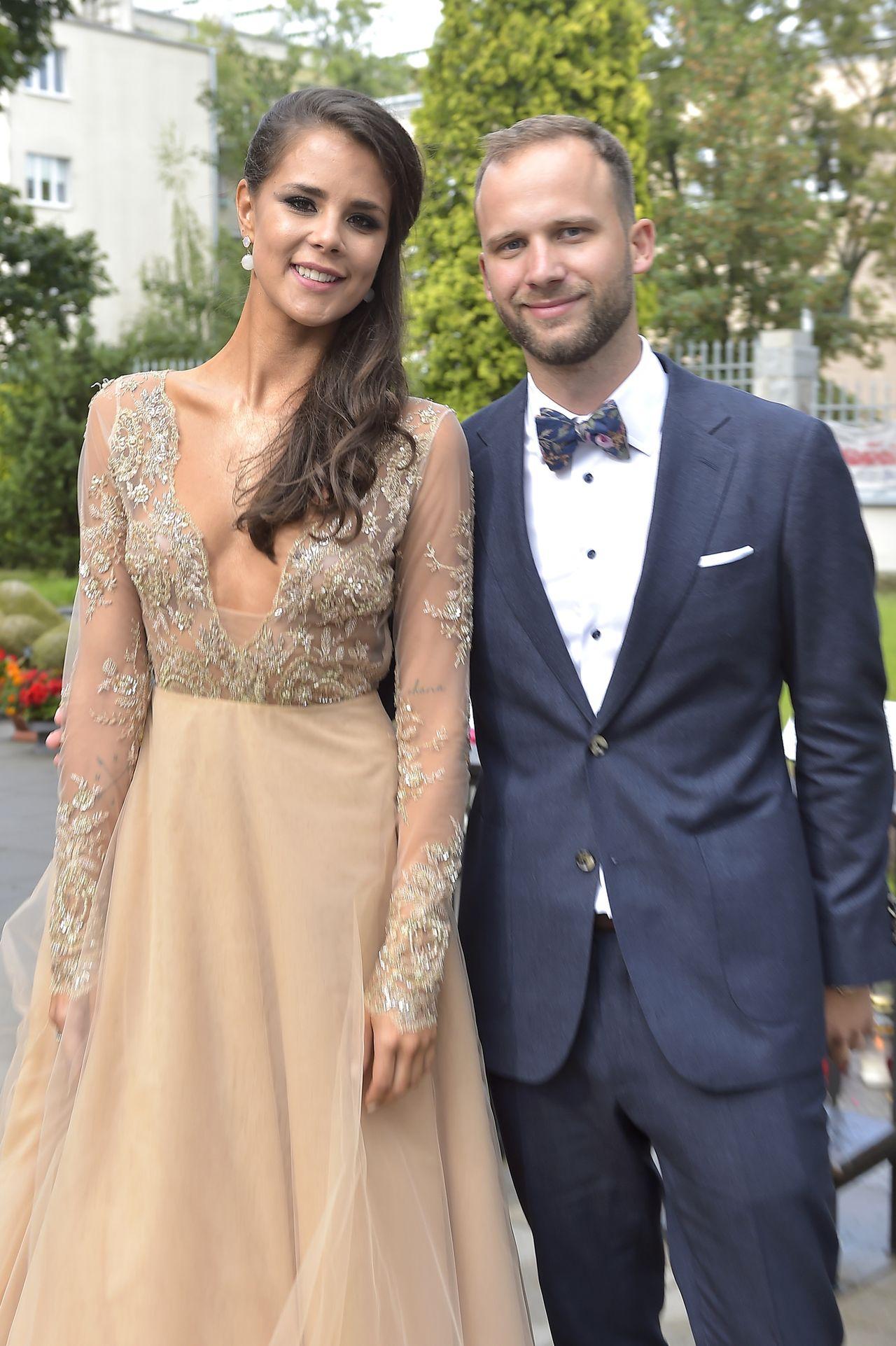 Anna i Robert Lewandowscy na ślubie córki Anny Korcz (ZDJĘCIA)