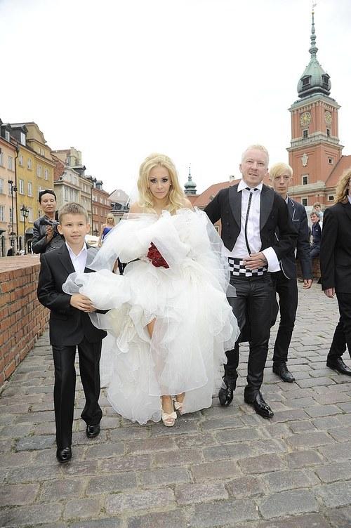 Ślub Tomasza Luberta z Ewą Wojtasik (FOTO)