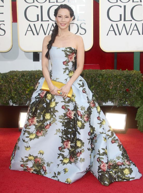 Najbardziej oryginalna sukienka Złotych Globów 2013 (FOTO)
