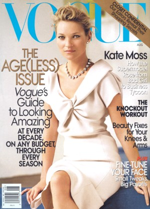 Kate Moss dla Vogue
