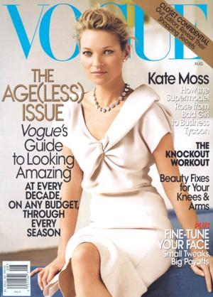 Kate Moss dla Vogue