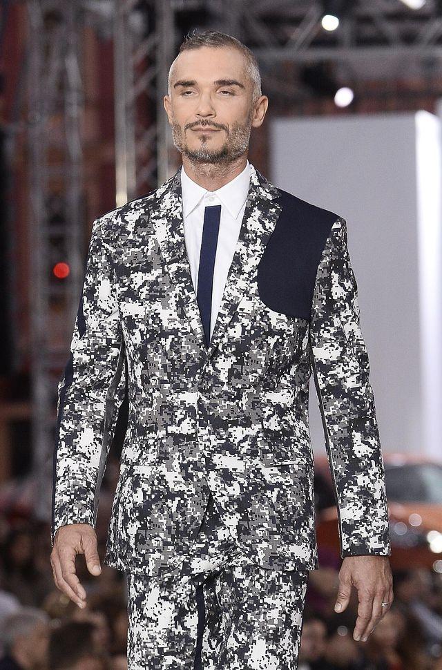 Maciej Myszkowski, mąż Justyny Steczkowskiej, znów jako MODEL (ZDJĘCIA)