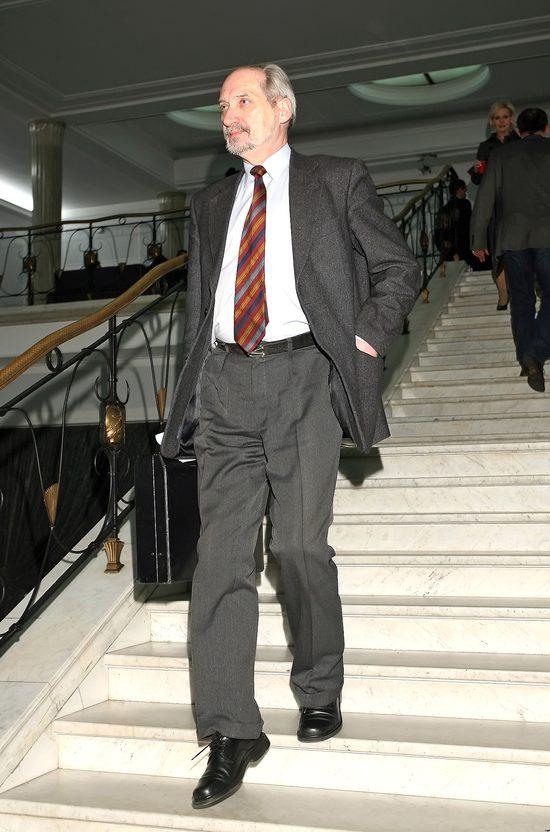Antoni Macierewicz został ministrem w nowym rządzie