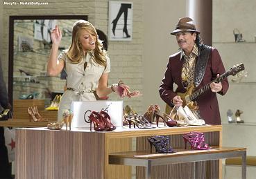 Mariah Carey z Carlosem Santaną