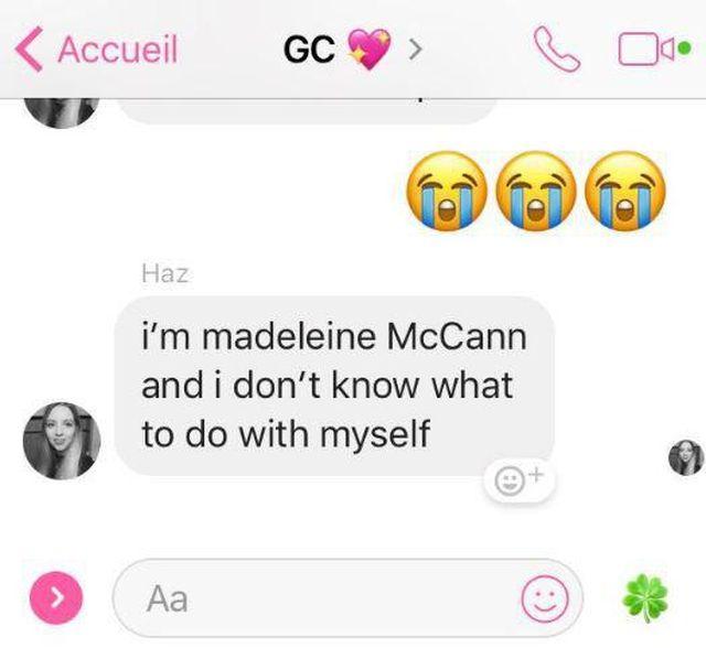 Ta dziewczyna myślała, że jest zaginioną Madeleine McCann?