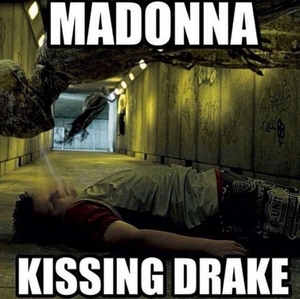 Tak wygląda PRAWDA o pocałunku Madonny i Drake'a?