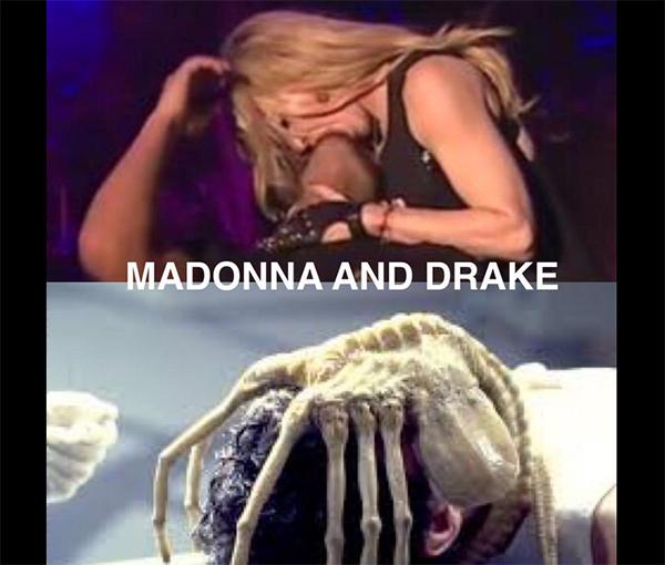 Madonna wysysa życie z Drake'a - internauci szaleją