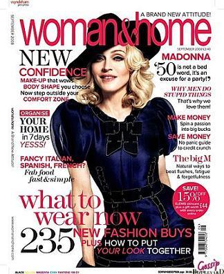 Madonna na okładce Woman & Home