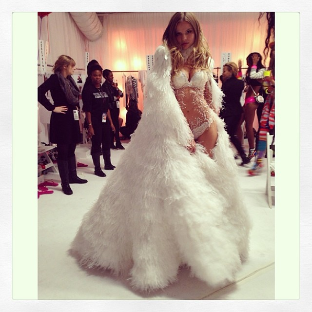 Polskie modelki na Victoria's Secret Show 2013 (FOTO)