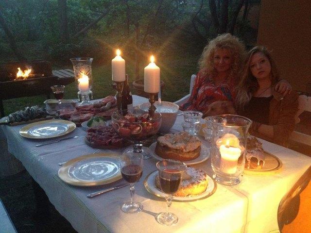 Jak Magda Gessler świętowała Dzień Matki (FOTO)