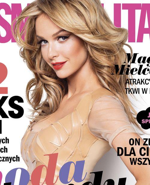 Tylko u nas! Magda Mielcarz w nowym Cosmopolitan (FOTO)