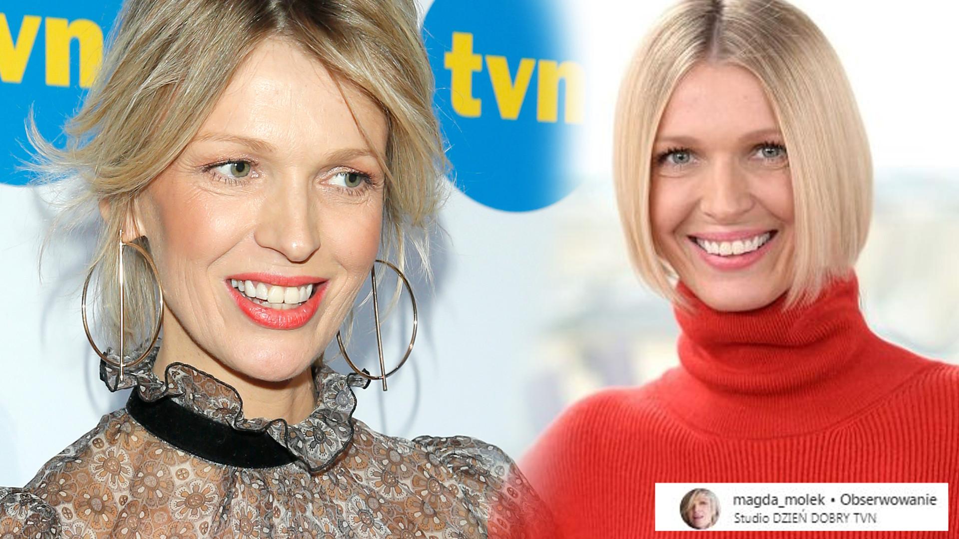 Nowa fryzura Magdy Mołek nie spodobała się fanom – nie pasuje jej bob?