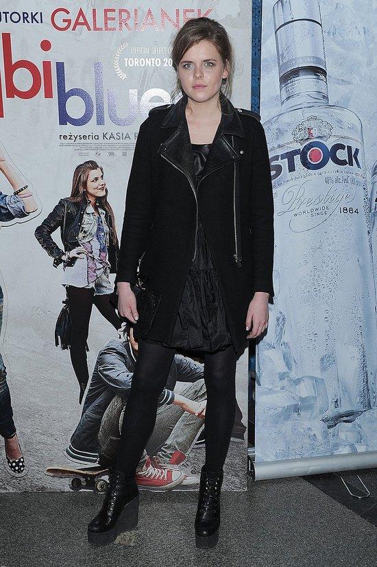 Magdalena Berus z Bejbi Blues była modelką