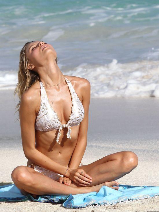 Magdalena Frąckowiak pozuje dla Victoria's Secret (FOTO)