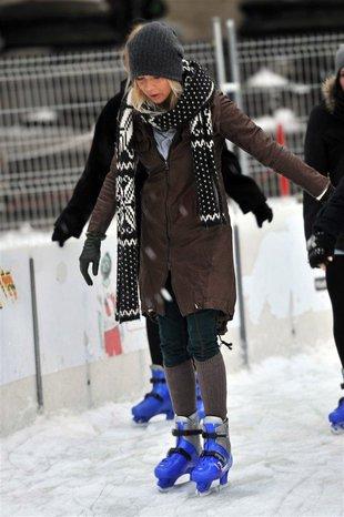 Maja Sablewska na łyżwach (FOTO)