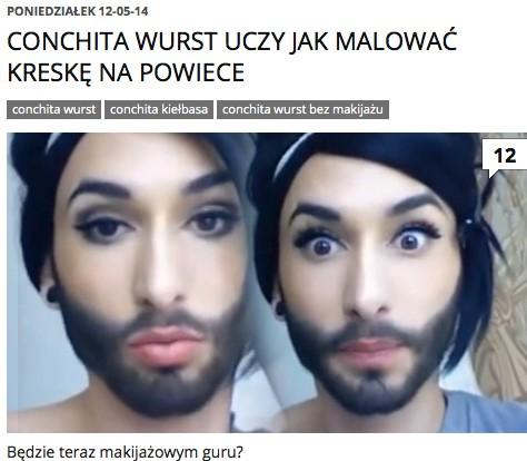 Jak wyglądała Conchita Wurst przed przemianą w kobietę? FOTO