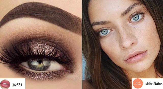 Mocne oko i dużo rozświetlacza, czyli trendy w makijażu