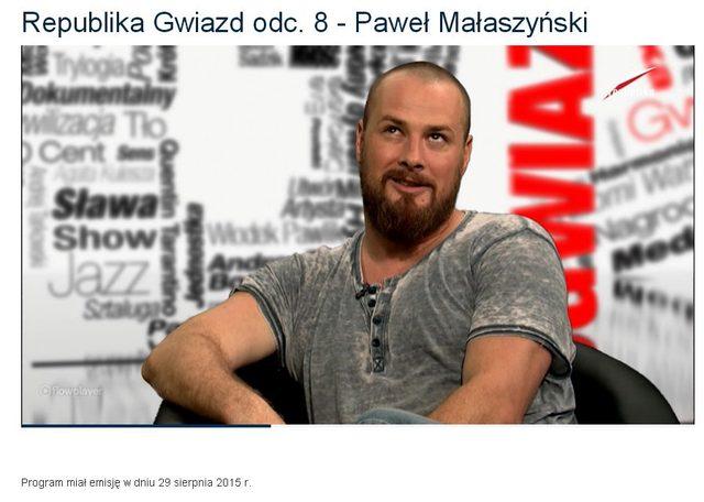 Pawe� Ma�aszy�ski wspomina Ann� Przybylsk�