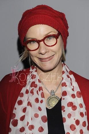 Małgorzata Potocka jak wielki, czerwony smurf (FOTO)