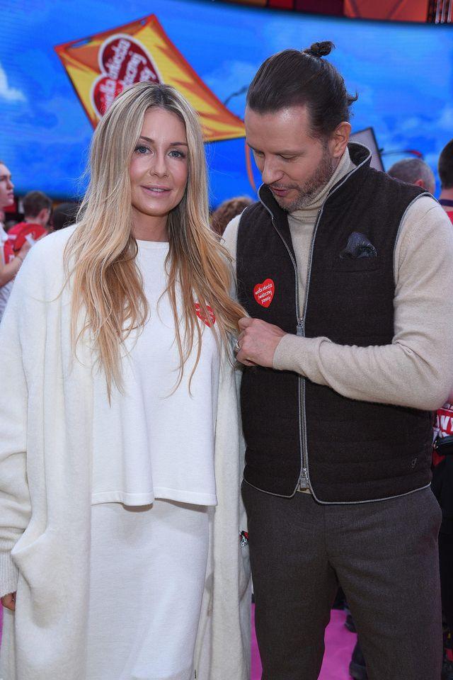 Majdanowie u Owsiaka - na licytację dali swój ślubny prezent (ZDJĘCIA)