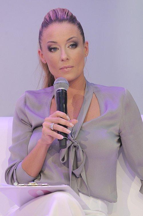 Perfekcyjna Rozenek w perfekcyjnym makijażu i stroju (FOTO)