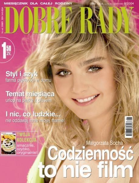 Małgorzata Socha pokazała sutek na okładce Elle (FOTO)