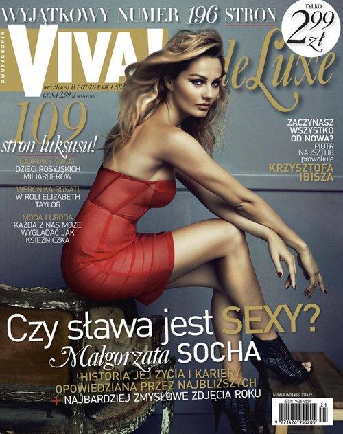 Czy Socha pozna siebie na okładce Vivy de Luxe? (FOTO)