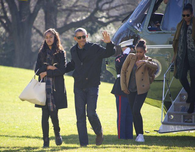 Kiedy Sasha Obama spotka�a Ryana Reynoldsa, Malia zrobi�a TO