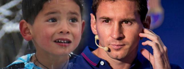 Leo Messi spotka się z 5-letnim Murtazą z Afganistanu