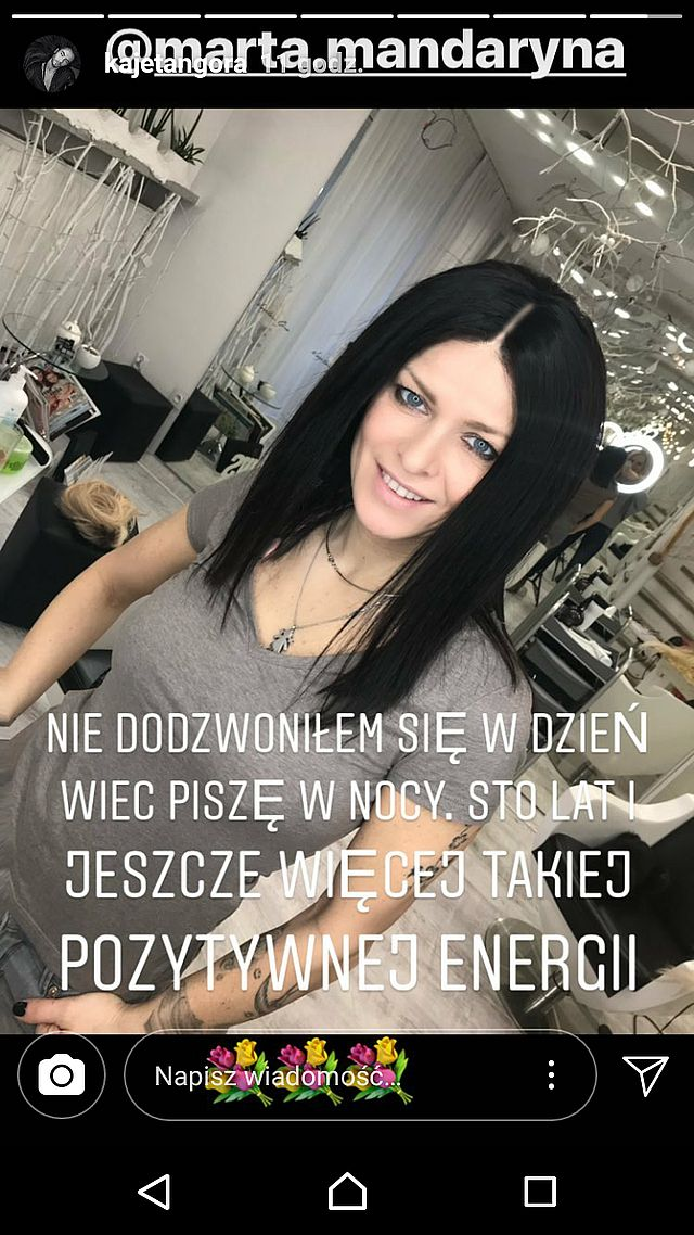 Mandaryna ma CZARNE włosy! (Instagram)