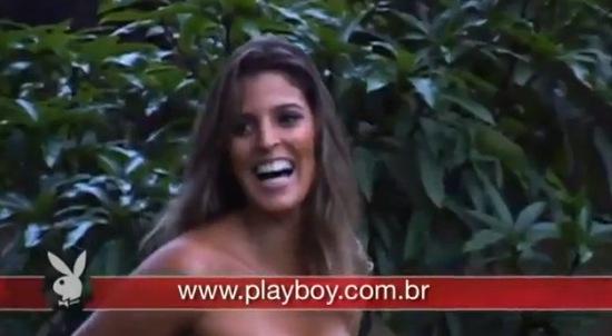 Mari Paraiba - gorąca siatkarka w Playboyu