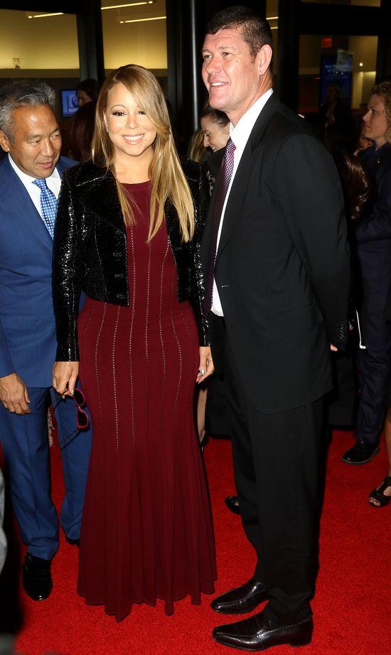 Mariah Carey z nowym chłopakiem na salonach (FOTO)