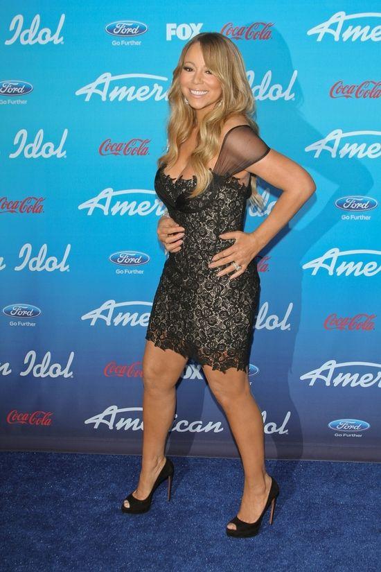 Mariah Carey zn�w zgubi�a tali� (FOTO)
