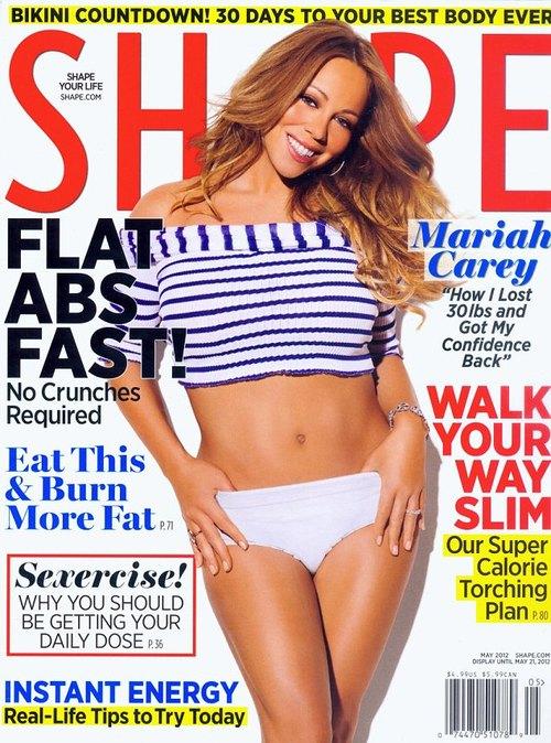 Mariah Carey: W ciąży przytyłam 32 kilogramy (FOTO)