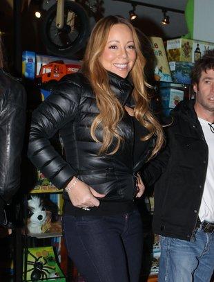 Mariah Carey nie przegapi okazji do zakupów (FOTO)