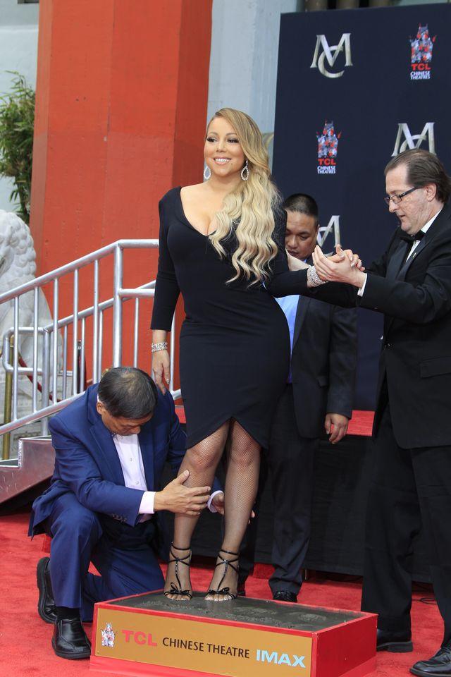 Mariah Carey SCHUDŁA, bo... (ZDJĘCIA)