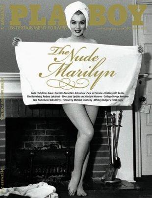 Naga Marilyn Monroe w grudniowym Playboyu (FOTO)