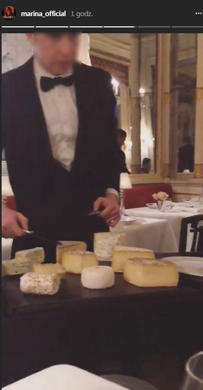 Marina z Wojtkiem na randce we włoskiej restauracji