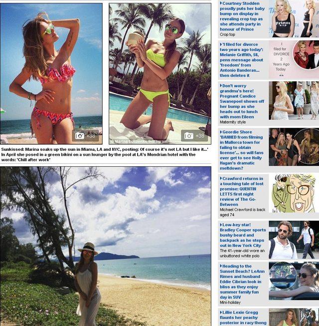 Daily Mail o Marinie Łuczenko-Szczęsnej: Znalazła świetny sposób, by