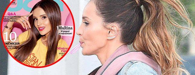 Co Marina Łuczenko-Szczęsna robi, by jej włosy rosły SZYBCIEJ?