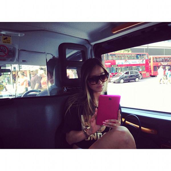 Marina Łuczenko na fotkach z Londynu