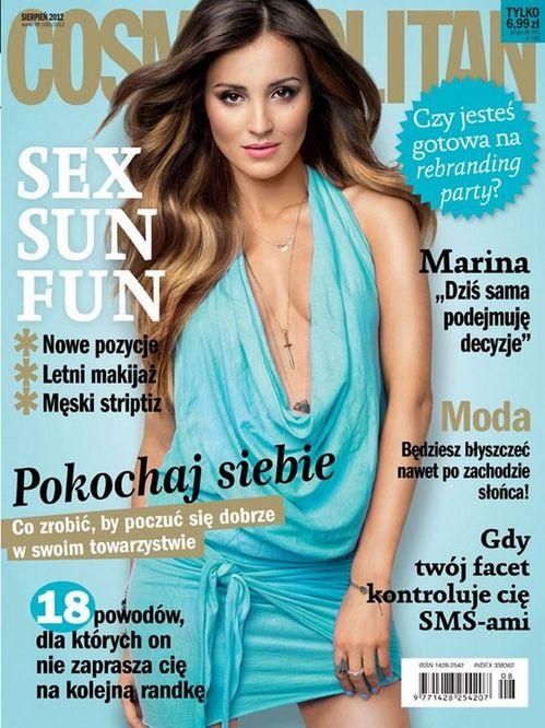 Gorąca Marina Łuczenko w Cosmopolitan (FOTO)