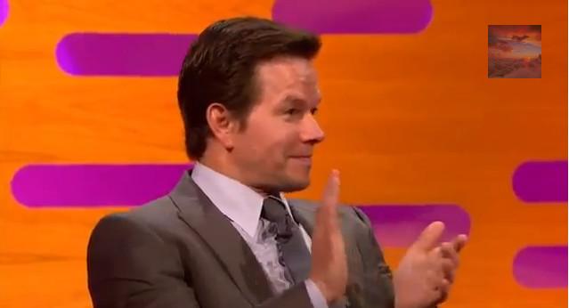 Mark Wahlberg pijany w brytyjskim talk show?
