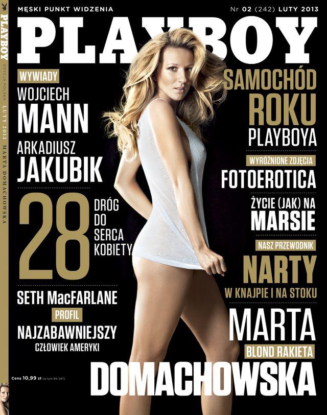 Marta Domachowska nago w Playboyu (FOTO)
